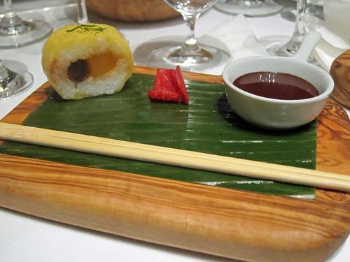 Wasabi Chocolate Maki Roll