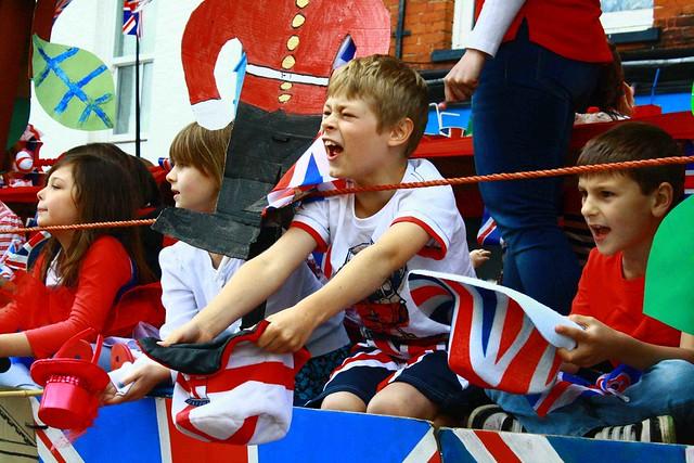 Jubilee parade, Soham