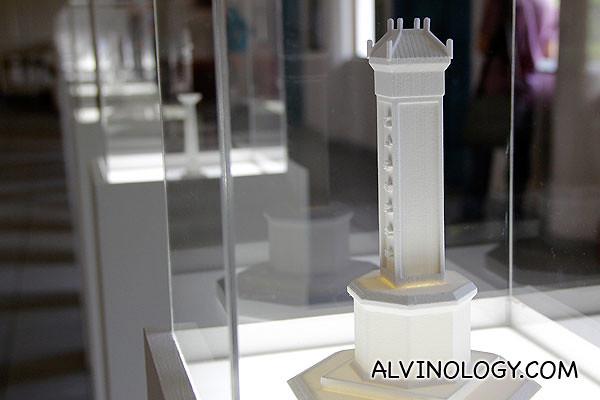 A tower replica