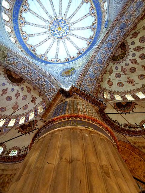Istanbul - avril 2012 - jour 2 - 150 - Sultanahmet Camıı (Mosquée bleue)
