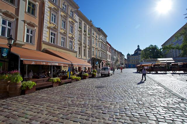 Market square. Lviv, Ukraine