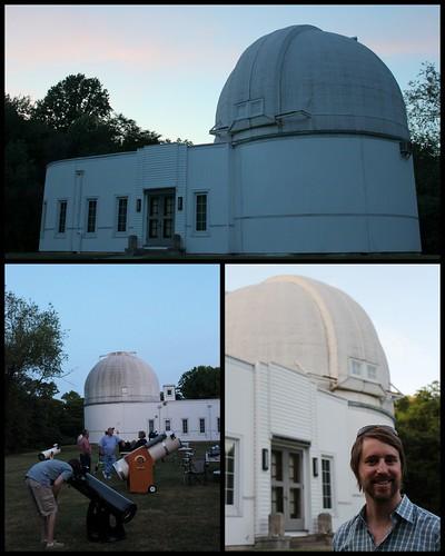 20120611. Goethe Link Observatory, Martinsville, IN.