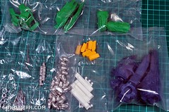1-100 Kshatriya Neograde Version Colored Cast Resin Kit Straight Build Review (9)