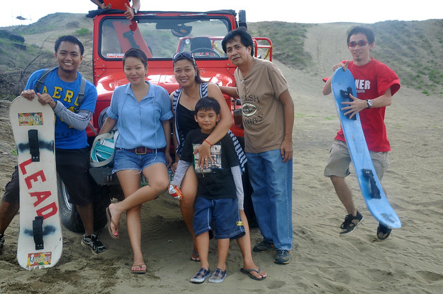Our LEAD Movement, sandboarding innovators in the Philippines