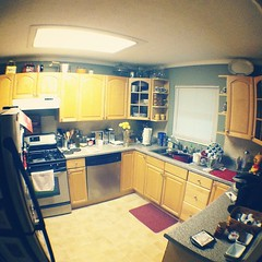 My #kitchen #photoadaymay it may be little but it's mine :)