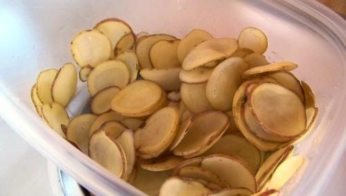 Cactus-Cut Potatoes