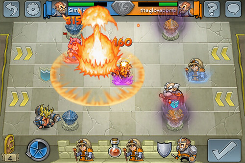 Hero Academy screenshot