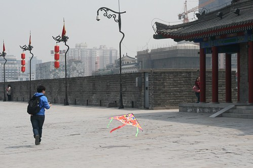 Trying to fly a kite 2