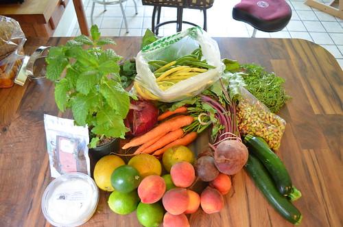 My weekly veggies