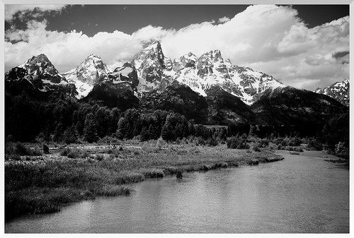 Tetons BW by J*Phillips