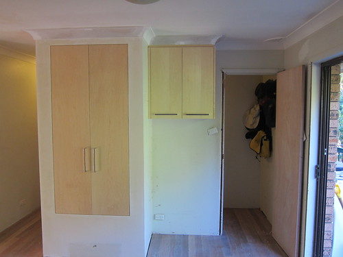 After the plasterer, before the painting