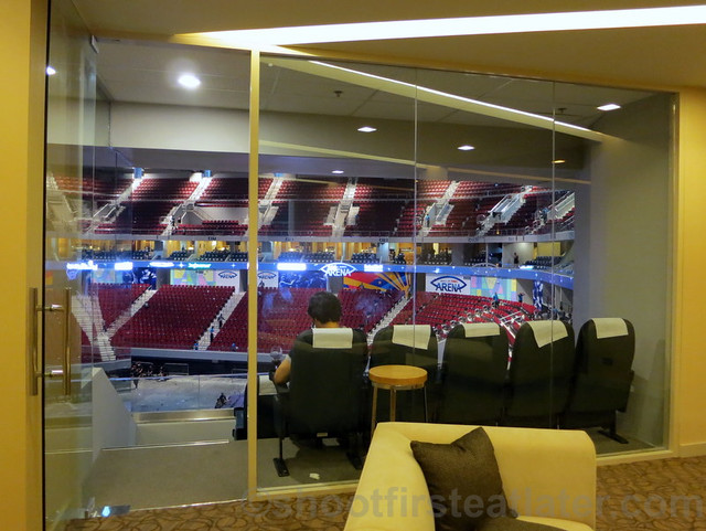SM Mall of Asia Arena corporate suite 2