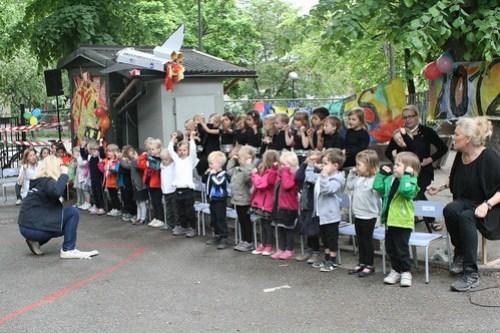 Sommarfest på förskolan