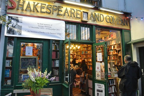 Shakespeare and company, Paris - foto: giuliaduepuntozero, flickr