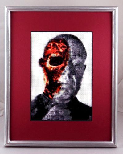 Face/Off (framed)