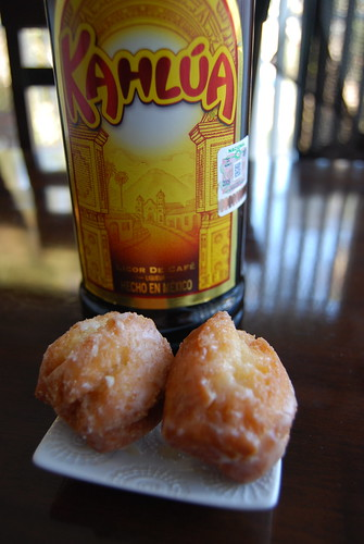 Donut plus Kahlua