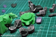 1-100 Kshatriya Neograde Version Colored Cast Resin Kit Straight Build Review (29)