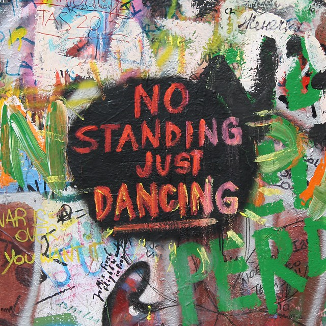 """No Standing, Just Dancing"""
