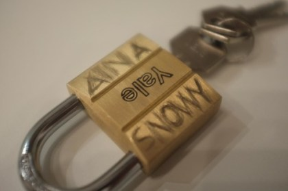 "our ""love padlock"""