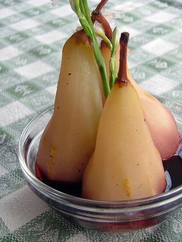 Pere al Barolo - Pears in Barolo Syrup