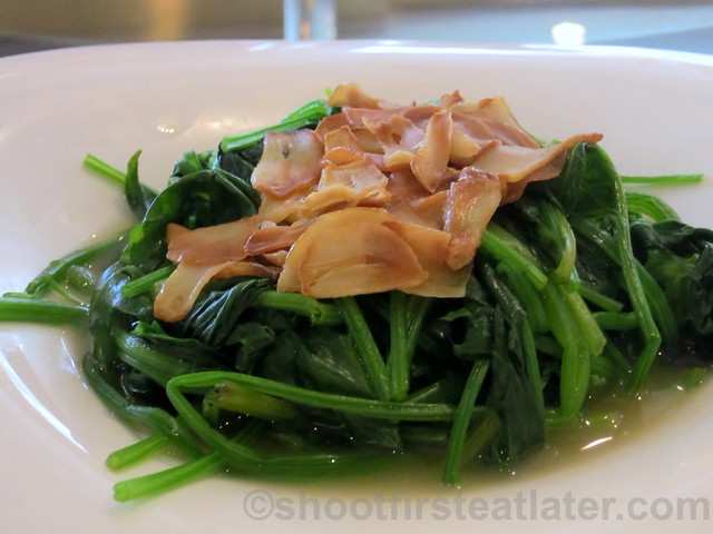 Summer Palace, Edsa Shangri-La- spinach in superior stock