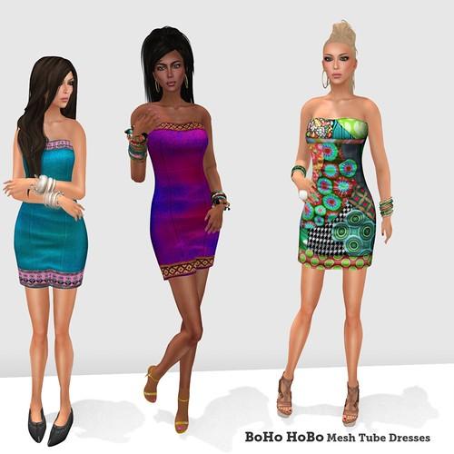 BoHo HoBo Mesh Dresses 1