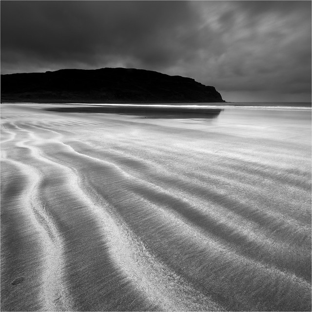 Sand waves on the Isle of Eigg