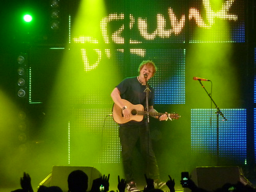 Ed Sheeran @ Rock en Seine 2012, jour 2