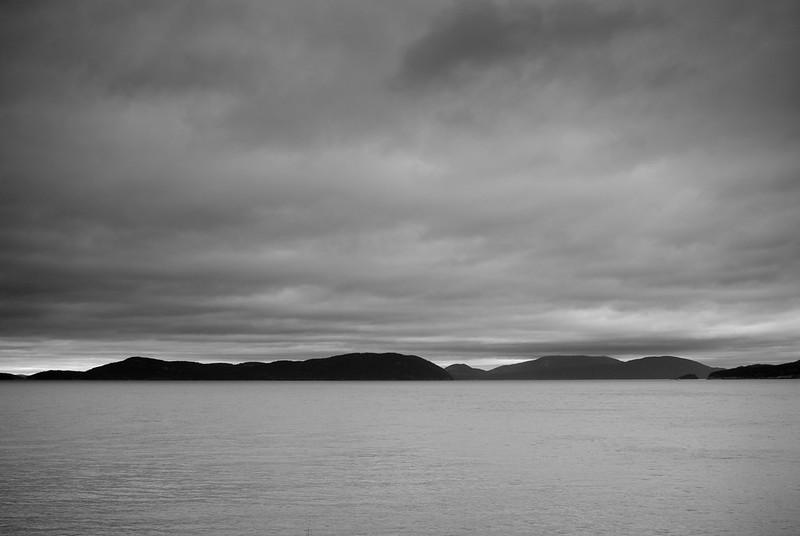 cloud on island