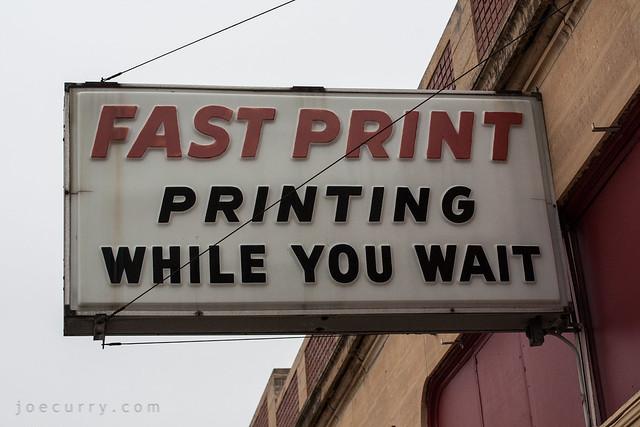 Fast Print