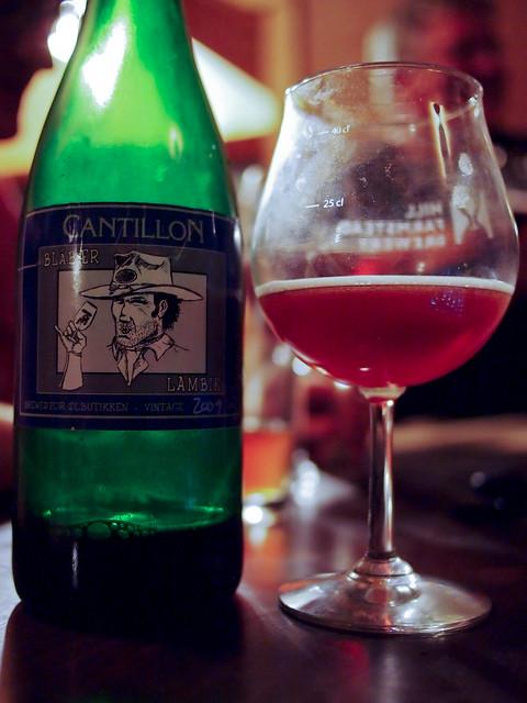Cantillon Blåbær Lambik 2009 Vintage