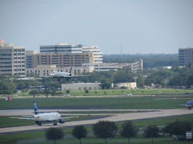 Tampa International Airport - planes coming & going