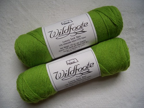 Brown Sheep Wildfoote - Deco Lime