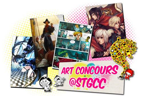Art Concours at STGCC 20120