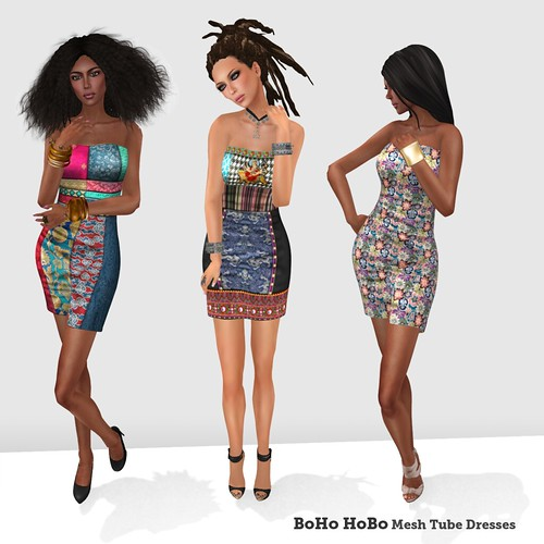 BoHo HoBo Mesh Dresses 2