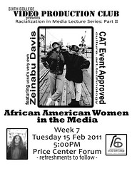 Flyer for Zeinabu Davis