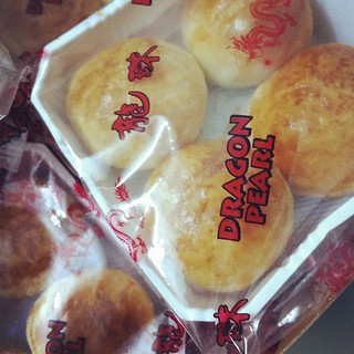 Dragon pearl biscuits