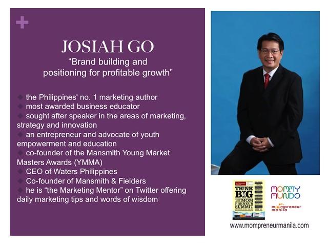 Josiah Go profile