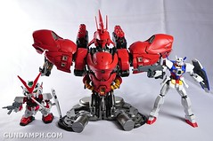Formania Sazabi Bust Display Figure Unboxing Review Photos (66)