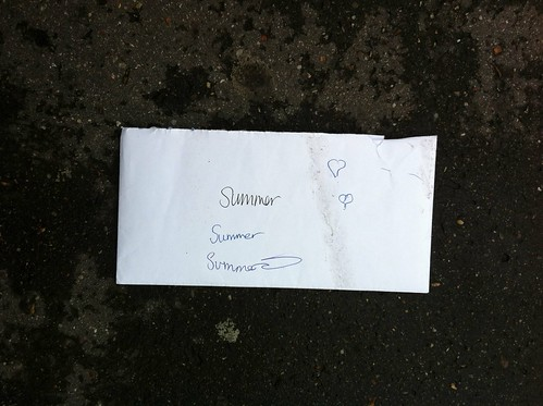 Love letter to the summer by Simon Sharville
