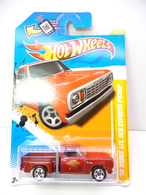 hot wheels '78 lil red express pick up (1)