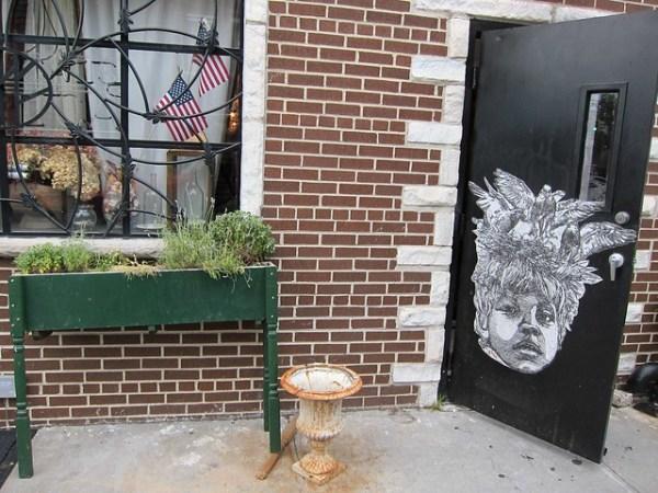 The doors of Vernon Boulevard