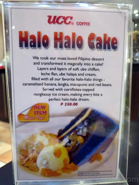 UCC halo halo cake