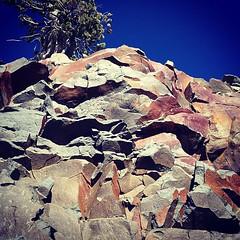 Rocks behind Garfield Peak
