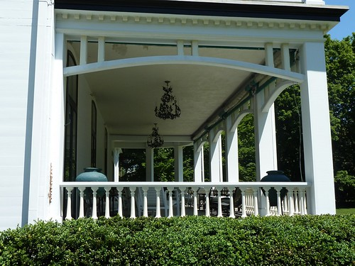 Detail of porch