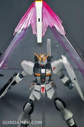 Robot Damashii Nu Gundam & Full Extension Set Review (89)