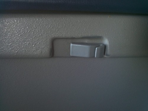US Airways Tray Table CRJ-900