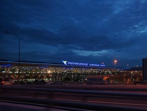 Suvarnabhumi International Airport  Thailand