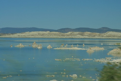 Mono Lake near Yosemite National Park