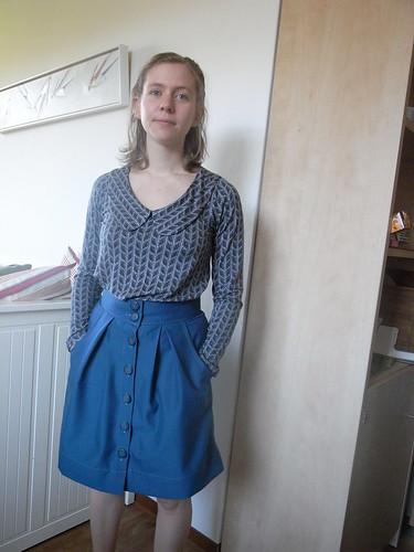 Jersey Banskia and Kelly Skirt